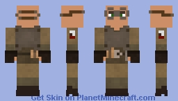 Revamped NCR Soldier Minecraft Skin