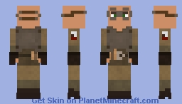 NCR Soldier Alex Model Minecraft Skin