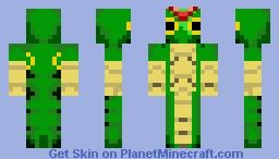 Caterpie Minecraft Skin