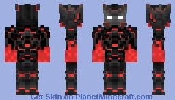 Red Gaurd Minecraft Skin