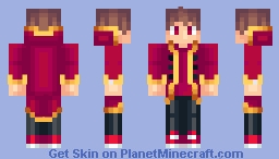 Red Boy Minecraft Skin