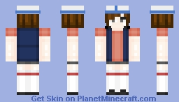 ~мєgυмι~ Dipper Pines. //Female In Desc! Minecraft