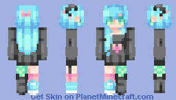 ☆ βενεℜℓγ ☆  Falling out of love with you~  (Gift ♥) Minecraft Skin