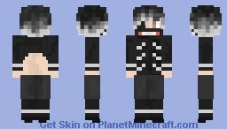 Kaneki Ken Minecraft Skin