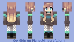 sweaters in july Minecraft Skin
