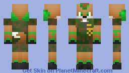 mike the fox (fairy male) Minecraft Skin