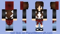 cute girl Minecraft Skin