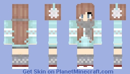 ღ MιѕѕуSωєєтz ღ Winter Is Coming! ღ Minecraft Skin