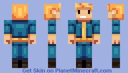 Vault Boy - Fallout Minecraft Skin