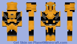 Swtor: Knights of the Fallen Empire: Knight of Zakuul Minecraft Skin