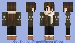 November Green Minecraft Skin