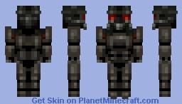 Power Armor - Fallout 4 Minecraft Skin