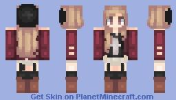 Intro~ (with speed paint) Minecraft Skin