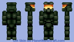 Master Chief - Halo Minecraft Skin