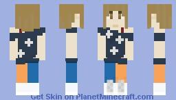 Moe Nishinosono Minecraft Skin