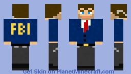 FBI Agent Minecraft Skin