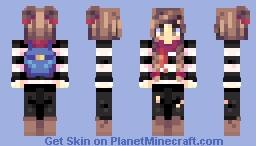 numbers Minecraft Skin