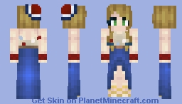 Fourth Of July Inspired Minecraft Skin