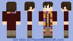 the 4th Doctor!!!!!! Minecraft Skin