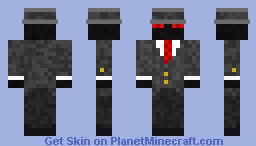 Fancy Enderman Minecraft Skin