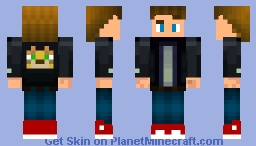 First Skin Made By Me! Minecraft Skin