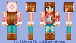 вεαηιε gιяℓ Minecraft Skin