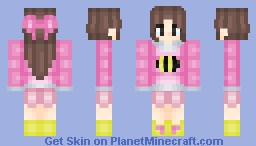 [•SK•] - Bee From Bee And PuppyCat - [Update] Minecraft Skin