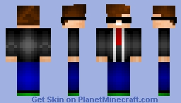 Famous Actor Minecraft Skin