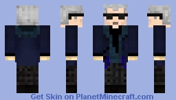 12th Doctor (series 9 with shades) Minecraft Skin