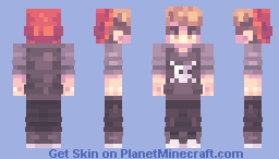 Jean Kirschtein | 2000 subs Minecraft Skin