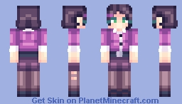 Miss Pauling 【TF2】 Minecraft Skin