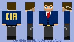 CIA Agent Minecraft Skin