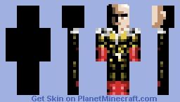 Onepunch Man - Saitama Minecraft Skin