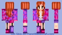 Polka of the Dot Minecraft Skin