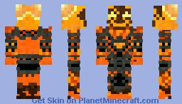 Ragnaros the Firelord Minecraft Skin