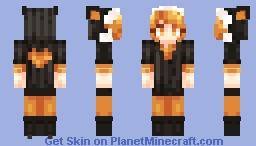 Kagamine Rin (A Female Ninja, But I Want to Love!) Minecraft Skin