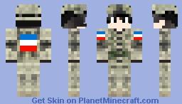 #WeAreNotAfriad #PrayForParis Minecraft Skin