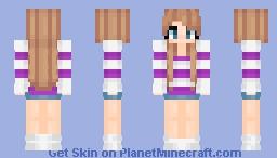 Stripey Minecraft Skin