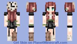 """Hανε ϒσυ ξνεℜ Τℜιεd tσ ξαt α CΙσςk?"" Minecraft Skin"