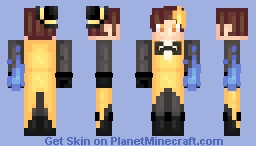 Bill Cipher Redo Minecraft Skin