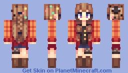 Soot Sprite ~ Skin Trade with Lycalopex Minecraft Skin