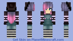 Serious girl..? (i need new names for my skins) Minecraft Skin