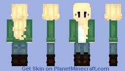 Albinia ~ My first skin! ~ Minecraft