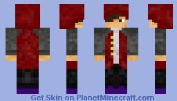 Neon in the Winter Minecraft Skin