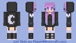 ƁℓυєAηgєℓ ~ Dark // Remake // Popreeeeeeel Minecraft Skin