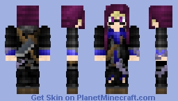 SeekerMizuxe~ Request 2 Minecraft Skin