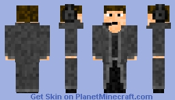 Agent_Blackwing Minecraft Skin