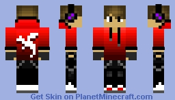 Dragon Boy Minecraft Skin