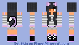 Aphmau Meif'wa (my version) (my edit) Minecraft Skin