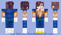 Dragon Ball Z Test Minecraft Skin